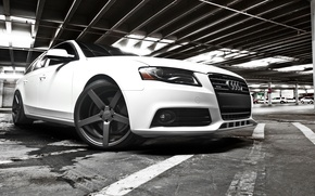 Picture Audi, Auto, Disk, Tuning, Wheel, Machine, Parking