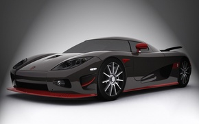 Wallpaper Koenigsegg, sports car, CC-Edition, carbon