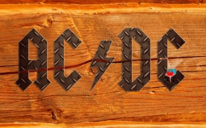 Picture letters, fly, tree, the inscription, lightning, texture, group, iron, hard rock, ac/dc, eysi DISI