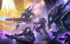 Wallpaper Eldar, Eternal Crusade, Warhammer 4000, War