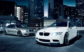 Picture the city, building, bmw, BMW, five, three, tuning