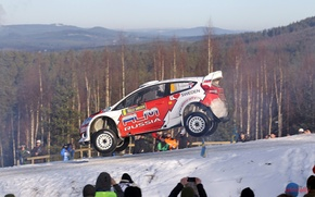 Picture Car, ford, cars, rally, WRC, snow, machinery