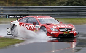 Picture squirt, speed, track, Mercedes, sports car, Mercedes, dtm, DTM