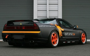 Picture Honda, NSX, Rear side