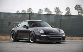 Picture Porsche, Black, GT3