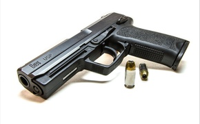 Picture gun, weapons, HK USP 45 Auto