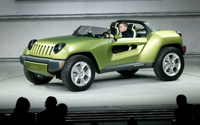 Picture Jeep, Renegade, Cencept
