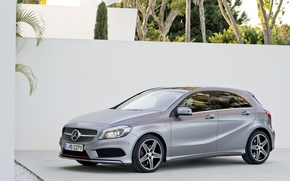 Picture grey, Mercedes, Mercedes, A class, AMG package