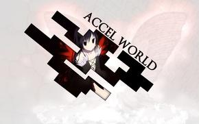 Picture Anime, Silver Raven, Black Lotus, Haru, Accel World