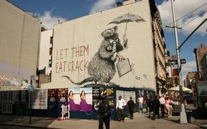 Picture Graffiti, Banksy, Rat