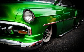 Picture retro, Chevrolet, car, classic, 1954, Chevy