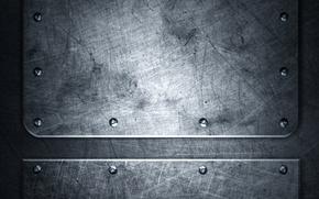 Picture metal, texture, metal, texture, grunge, rivets, steel, metallic