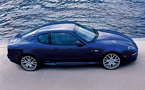 Picture Maserati, blue, gransport