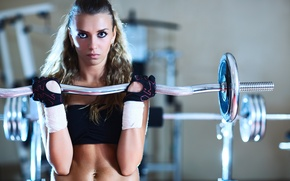 Picture look, sport, piercing, hall, fitness, rod, workout, fitness, gym