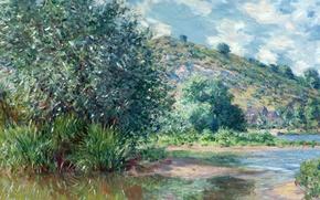 Picture nature, picture, Claude Monet, Landscape in Port Vila
