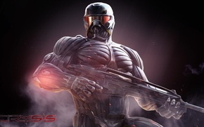 Picture Wallpaper, Soldiers, Crysis, Nanosuit, The Nano Suit