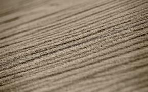 Wallpaper bokeh, macro, line, sand