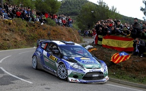 Picture Ford, Turn, WRC, Rally, Rally, Fiesta, Latvala