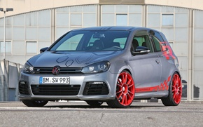 Wallpaper front, 6 R, Sport-Wheels, VW Golf