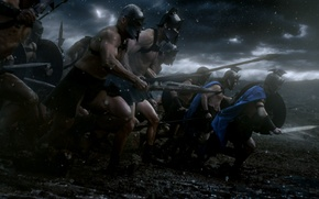 Picture 300 Spartans, battle, warriors, 300, historical, Rise of an Empire, Rise of an Empire