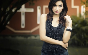 Picture Girl, Beautiful, Model, Photo, View, Hair, Necklace, Indonesia, Attractive, Gladiezz, Awesome
