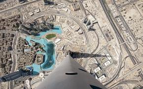 Wallpaper skyscraper, Dubai, UAE, height, the city