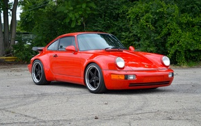 Picture turbo, wheels, porsche, 964, series, ff3, heritage, on, forgeline
