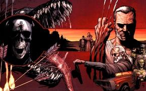 Picture Logan, Of marvel, Comic