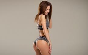 Picture ass, girl, pose, model, figure, brunette, The mavri, Galina Dubenenko