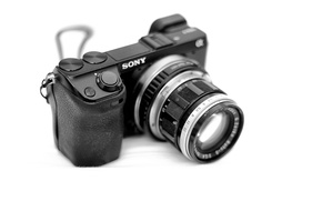 Picture Sony, camera, lens