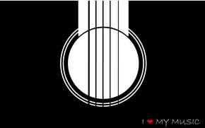 Picture Music, Guitar, Minimalism, I Love Music
