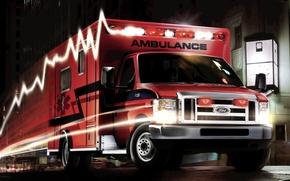 Picture Ford, super, duty, ambulance, e-450