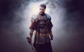 Picture Gladiator, Rome, Maximus, Russell Crowe, General, Movie, Ridley Scott's Film, Maximus X Meridius, General of …