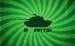 Picture Tanks, Worldoftanks, M48Patton