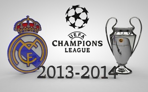 Picture Real Madrid CF, UEFA Champions League Trophy, Winners 2014