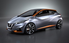 Picture Concept, the concept, Nissan, Nissan, hatchback, 2015, Sway