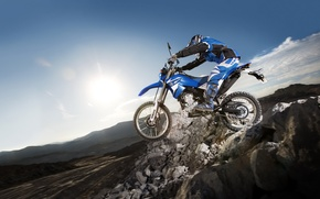 Picture mountain, Moto, speed, tricks, race, racer