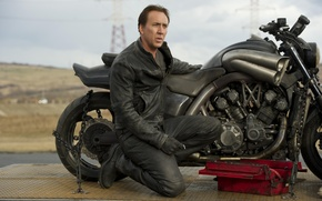Wallpaper motorcycle, Nicolas Cage, Nicolas Cage, Ghost rider 2, Yamaha V max, Ghost-Rider-Spirit-of-Vengeance