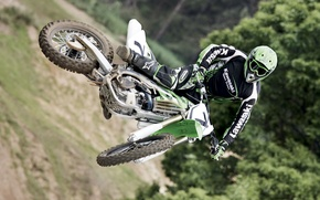 Picture jump, motorcycle, bike