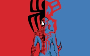 Picture Spider-Man 2099, Peter Parker, Marvel Comics, comic, Spider-Man, Miguel O'Hara, marvel