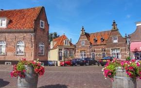 Picture city, street, Netherlands, Elevation of IJsselmeer