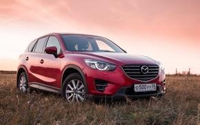 Picture red, Mazda, crossover, suv, CX-5, Kirill Kulikov