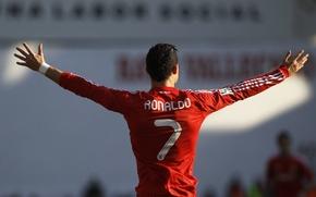 Picture Cristiano Ronaldo, player, Portugal, real Madrid, Cristiano Ronaldo, mega star