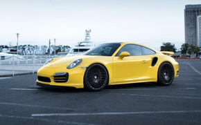 Picture Porsche, Turbo, 991, HRE, 501M