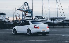 Picture Subaru, Impreza, Sedan, WRX, Subaru, Impreza, Super, 2003, STi, Work, Chrome, Wheels, SUBA, Verse, STI, …