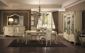 Picture table, room, furniture, chairs, interior, living room