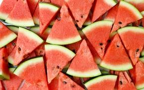 Wallpaper water melon, watermelon, slices, berry