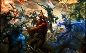 Wallpaper dota, phantom, DotA, Lina, trucks, defense of the ancients, Sven, void, Invoker, kunkka, júzcar, AKS, ...