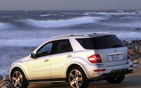 Picture mercedes-benz, amg, ml63, 10th anniversary