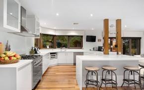 Picture design, furniture, kitchen